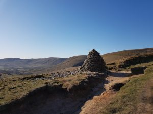 Cairn on a mountain